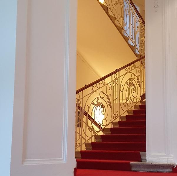 IWM staircase