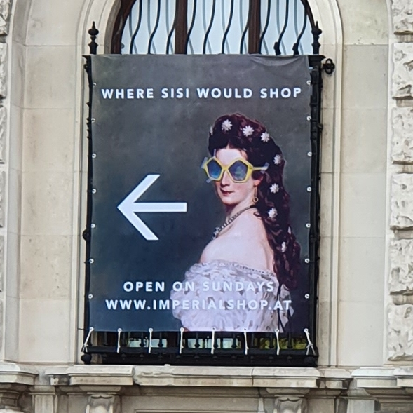 Vienna Imperial Shop poster
